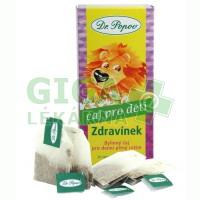 Čaj Dětský Zdravínek 20x1,5g Dr.Popov