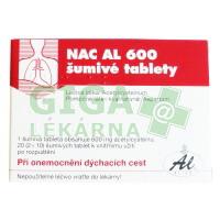 NAC AL 600 - 20 šumivých tablet
