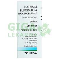 Natrium Fluoratum 0.55mg 250 tablet