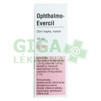 Ophthalmo-Evercil oční kapky 10ml