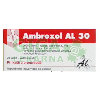 Ambroxol AL 30mg 20 tablet