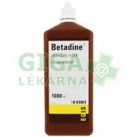 Betadine - chirurgický roztok 1000ml (hnědý)