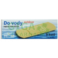 Náplast ASO Do vody 19x76mm Outdoor PLS 9ks