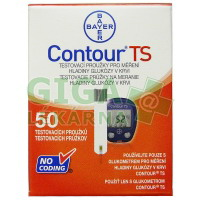Diagnostické proužky Contour TS 50ks