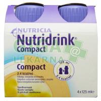 Nutridrink Compact 4x125ml Vanilka