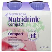 Nutridrink Compact 4x125ml Jahoda