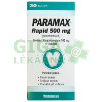 Paramax Rapid 500mg 30 tablet