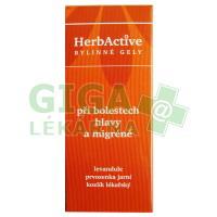 HERBACTIVE-gel bolest hlavy+migréna 20ml PAVES
