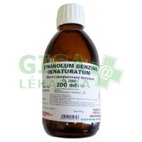 Ethanolum benzino denaturatum 200ml/161g Dr.Kulich