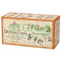 Grešík Děčínská směs čaj nálevévé sáčky 20x1g Devatero bylin