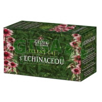Grešík Zelený čaj s echinaceou 20x1,5g přebal