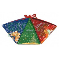 Čaje Vánoční dárková kolekce pyramidy 3druhy po 6ks
