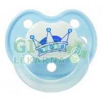 BABY NOVA dudlík latex tvarovaný dekor + kroužek č.2