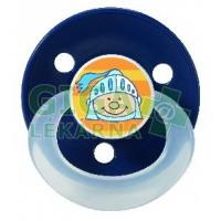 BABY NOVA dudlík silikon kulatý rund dekor