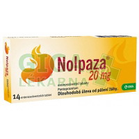 Nolpaza 20mg 14 tablet