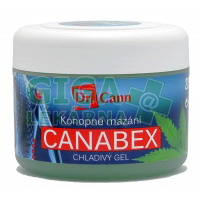 Dr.Cann CANABEX konopné mazání chladivý gel 220ml