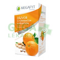 Megafyt Ovocný Zázvor s pomerančem a hřebíčkem 20x2g