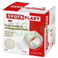 3M Spofaplast Náplast fixační transparentní folie 432 5mx25mm