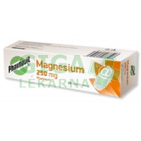 Magnesium 250mg Pharmavit 20 šumivých tablet