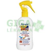 Astrid sun spray emulze na opalování pro děti F25 200ml