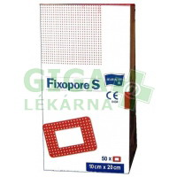 Náplast Fixopore S 10x20cm 50ks