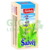 Apotheke Šalvěj lékařská čaj 20x2g nálevových sáčků