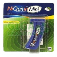 NiQuitin Mini 1.5mg 20 pastilek