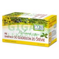 Bylinná směs pro diabetiky se sladké stevie 20x1,5g Fytopharma