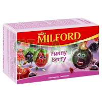 MILFORD Ovocný čaj Funny Berry 20x2,5g