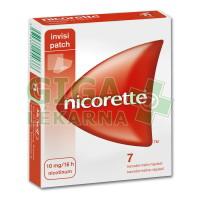 Nicorette Invisipatch 10mg/16h 7 náplastí