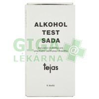 Alkohol test sada 5ks