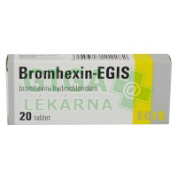 Bromhexin-Egis 8mg 20 tablet