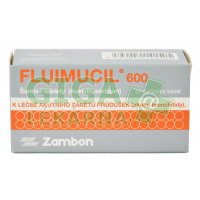 Fluimucil 600 - 10 šumivých tablet