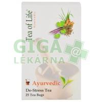 Ajurvédský Bio čaj proti stresu Tea of Life 25x2g