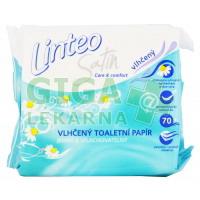 Toaletní papír vlhčený Linteo Satin 70ks náplň