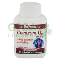 MedPharma Coenzym Q10 60mg forte 67 tobolek