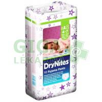 HUGGIES DryNites kalhotky M girls 17-30kg 10ks