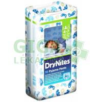 HUGGIES DryNites kalhotky M boys 17-30kg 10ks