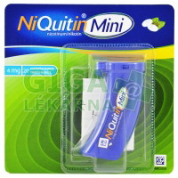 NiQuitin Mini 4mg 20 pastilek