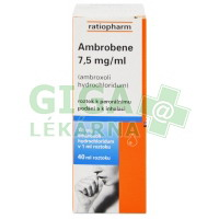 Ambrobene 7.5mg/ml roztok 40ml