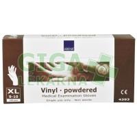 Rukavice vyšetřovací Vinyl XL 100ks