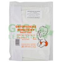 Kalhotky ortopedické kojenecké velikost 3 suchý zip