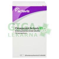Omeprazol Actavis  28x10mg kapsle