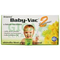Arianna Baby-Vac 2 s čisticím kartáčem odsávačka hlenů