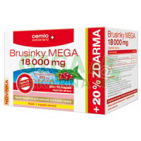 Cemio Brusinky MEGA 18000mg 50+10 kapslí