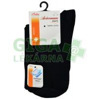 Avicenum DiaFit bavlněné ponožky 36-39 černé