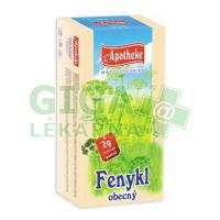 Apotheke Fenykl obecný čaj 20x2g nálevové sáčky