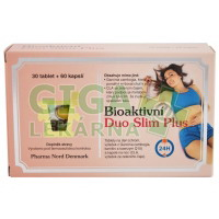 Bioaktivní Duo Slim PLUS 60 kapslí+30 tablet