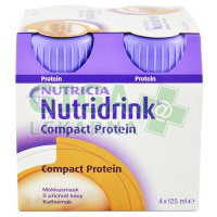 Nutridrink Compact Protein 4x125ml Káva