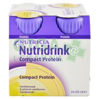 Nutridrink Compact Protein 4x125ml Vanilka